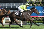La Passe Claims Upset Win in Blazer Stakes